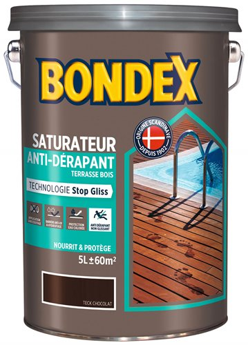 Bondex saturateur anti-dérapant